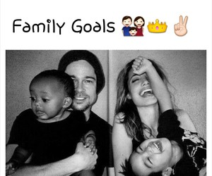 family, goals, and love image