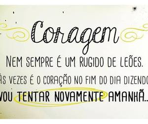 frases, coragem, and quotes image