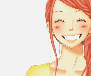 anime, lovely complex, and smile image