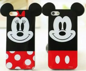 disney, mickey mouse, and iphone image