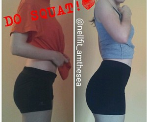 body, butt, and girl image