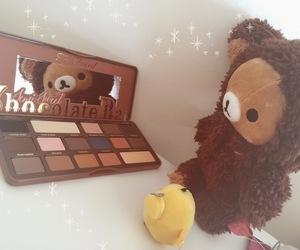 chocolate bar, cosmetics, and kawaii image