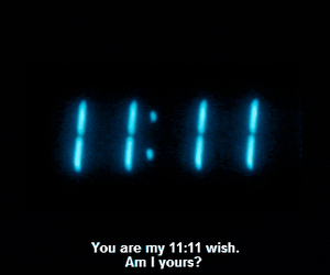 gif, love, and 11:11 image