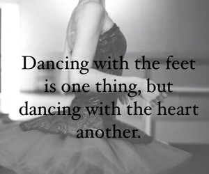dance, ballet, and heart image