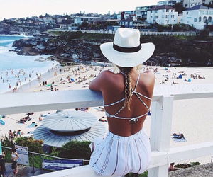 beach, fishtail, and summer image