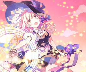 adorable, kirisame marisa, and pastel image