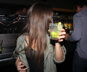 drink, girl, and party image
