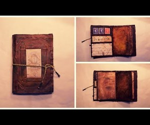 diy, journal, and vintage image