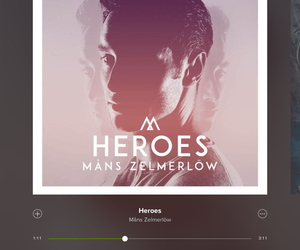heroes, mans, and music image