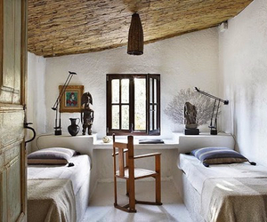 room ideas, siblings, and twin beds image