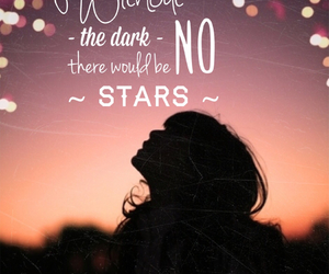 quote, stars, and tumblr image