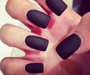 nails, beauty, and dresses image