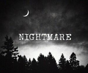 Darkness, night, and nightmare image