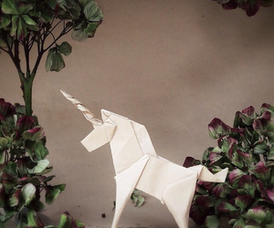 origami and unicorn image