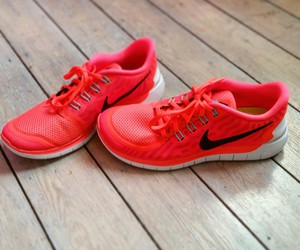 nike, running, and shoes image