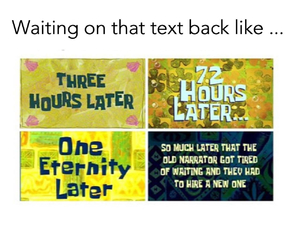 text, funny, and waiting image