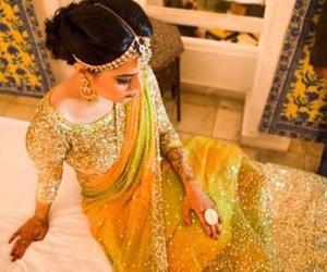 bridal, fashion, and long image