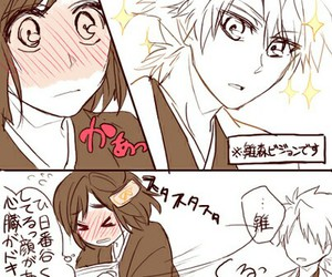 anime, bleach, and hitsuhina image