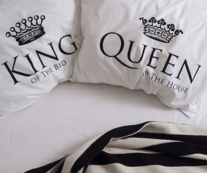 king, Queen, and bed image