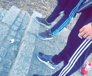 adidas, jogging, and nike image