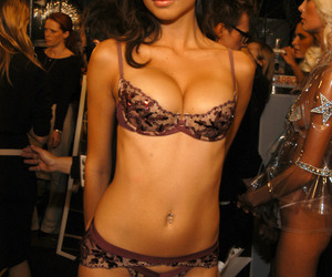 Adriana Lima, miranda kerr, and Beautiful Girls image