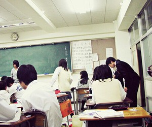 japan, school, and asian image