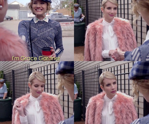 chanel, emma roberts, and luxury image