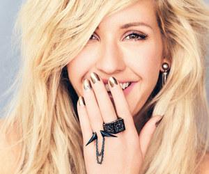 blonde, Ellie Goulding, and hair image