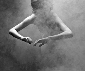 black and white, smoke, and smoke signals image