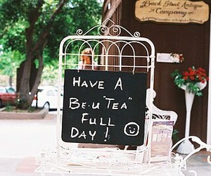 tea, vintage, and day image