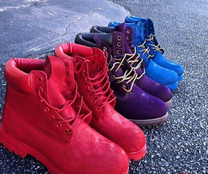 purple, tims, and shoes image