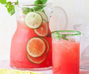 drink, summer, and healthy image