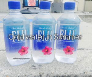 fiji, quote, and water image