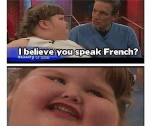 french, funny, and French Fries image