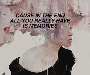 memories, quotes, and art image