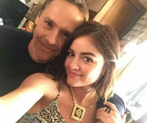 lucy hale, aria montgomery, and chad lowe image