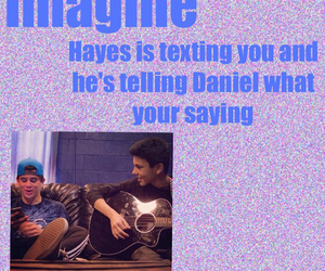 imagine, hayes, and hayes grier image