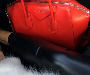 Givenchy, fashion, and red image