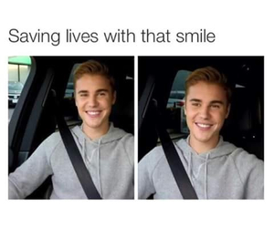 smile and belieber image