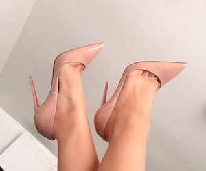nude shoes image