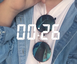 aesthetic, blue, and denim image