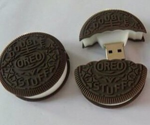 oreo, usb, and cookie image