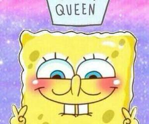 spongebob, Queen, and patrick image