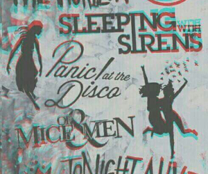 band, bring me the horizon, and sleeping with sirens image