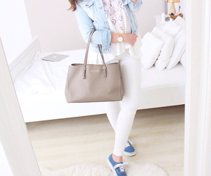 bag, white, and cute image