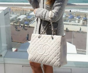 chanel, white, and high end image