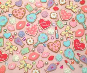 Cookies and pastel image