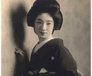 japan, women, and oldphoto image