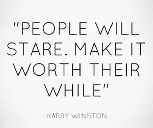 quote, people, and stare image