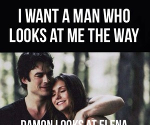 amor, damon, and elena image